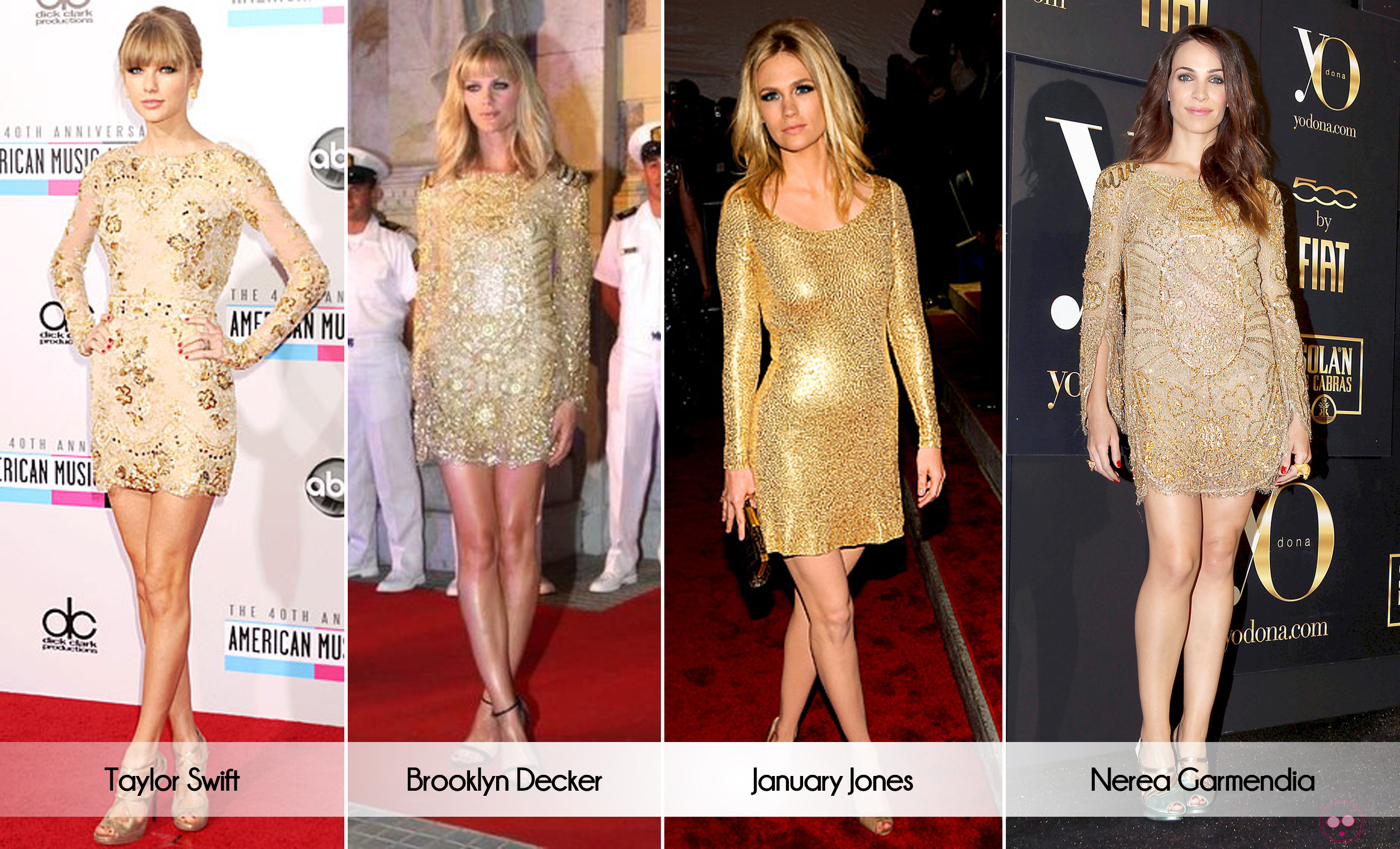 celeb look alike dresses